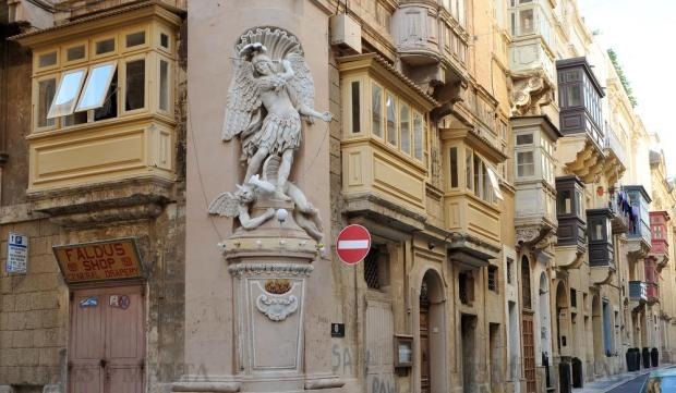 A corner of St Ursula Street in Valletta is seen on July 29. Photo: Chris Sant Fournier