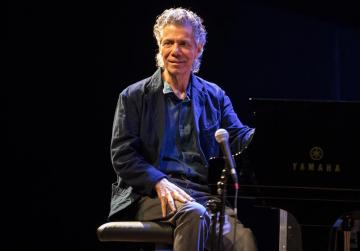 Legendary Chick Corea first on stage tonight