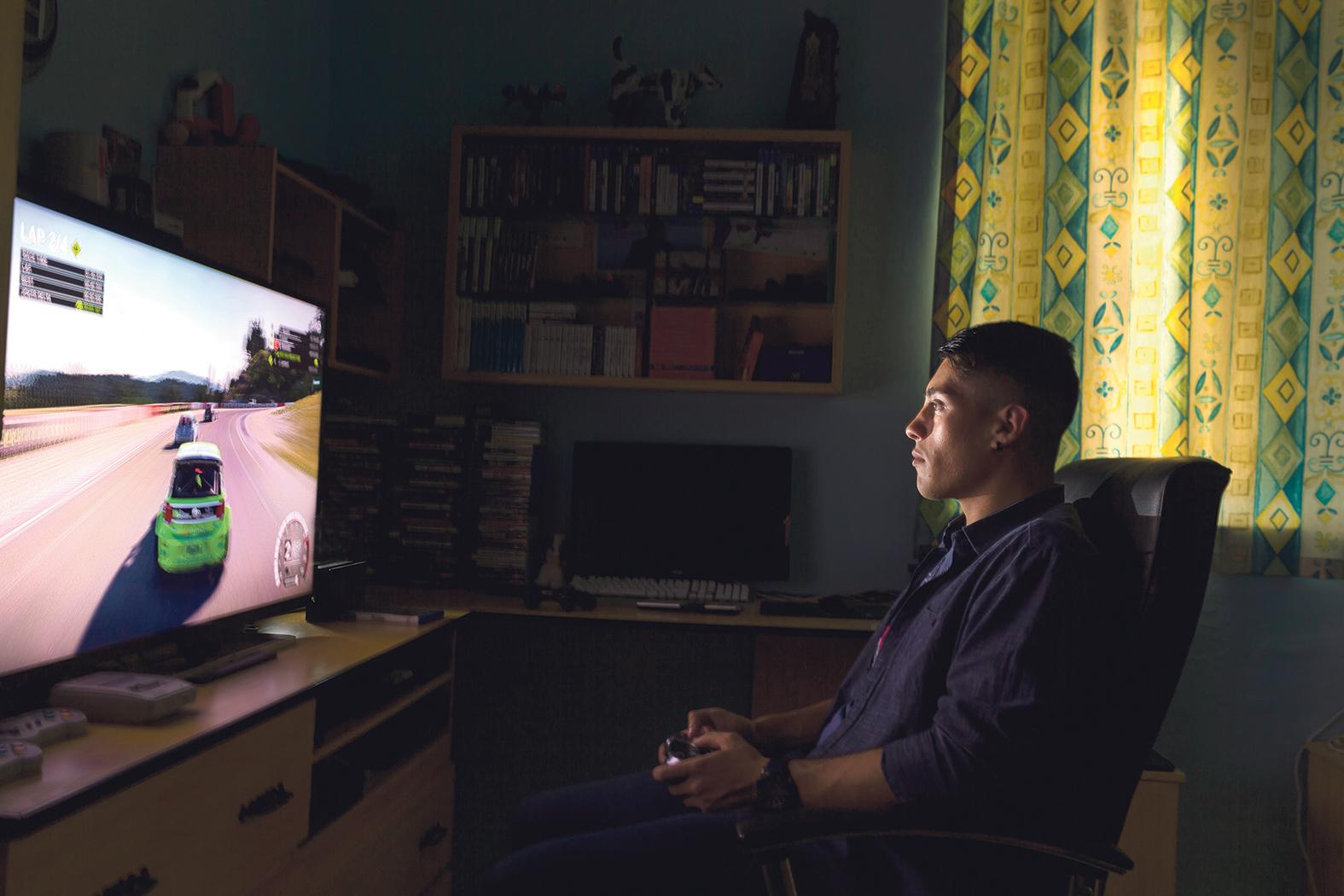 Blaine Schembri is autistic and has a passion for video games.