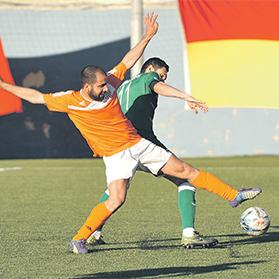 Lija Athletic scored a goal in each half to beat promotion rivals Senglea. Photo: Chris Sant Fournier