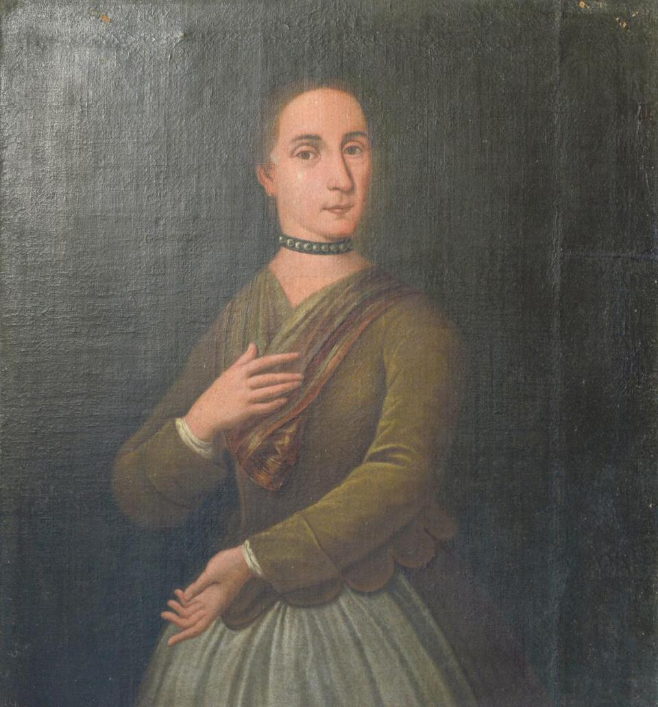 Portrait of Caterina Scappi, the first feminist in Malta, who died in 1643. Courtesy: Heritage Malta. Photo: Matthew Mirabelli