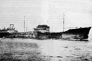 The Ohio in January 1942