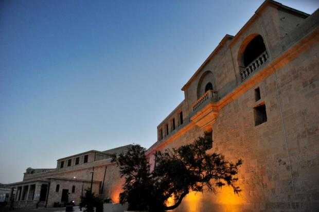 The newly-restored upper Fort St Elmo in Valletta is seen prior to its inauguration on May 8. Photo: Jason Borg