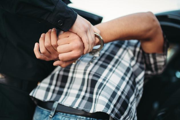 Three burglars caught red handed