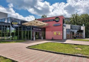 Retail centre in Latvia.