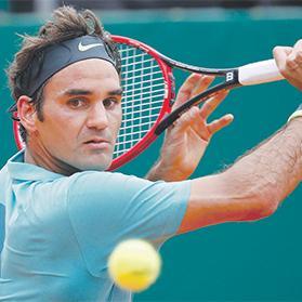 Roger Federer... raring to go for 2017 season.