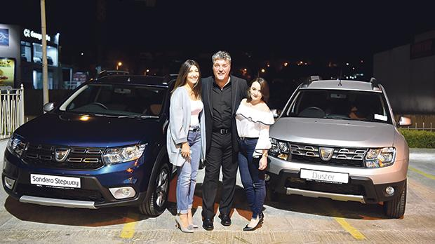 Franjessica Vella, Ivan Grech and Daniela Micallef.