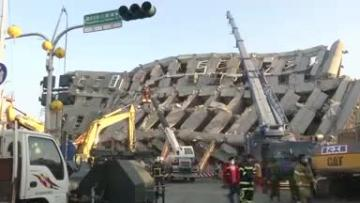 Young girl rescued two days after Taiwan quake; toll could exceed 100