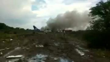 Passengers 'grateful to God' after plane crashes in Mexico with no deaths  | Video: Reuters