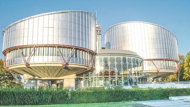 The European Court of Human Rights in Strasbourg. Photo:Marco Merk Bruno/Shutterstock.com