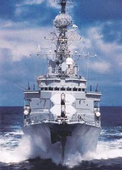 French frigate Tourville had been patrolling the waters between Libya and Malta earlier this month