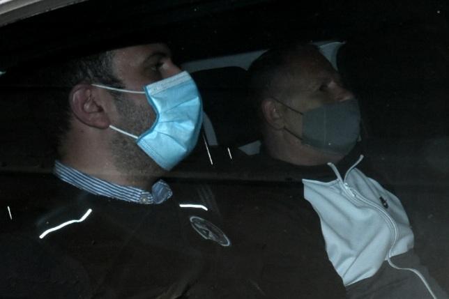 Degiorgio being escorted to court recently.