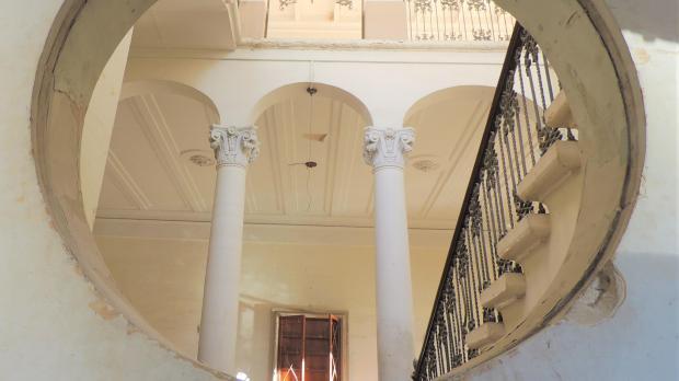 An internal view of Villa Drago. Courtesy of Edward Said
