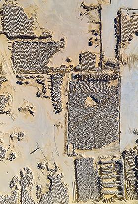 A globigerina limestone quarry at Dwejra