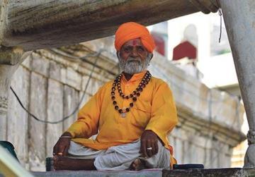 A yoga guru.