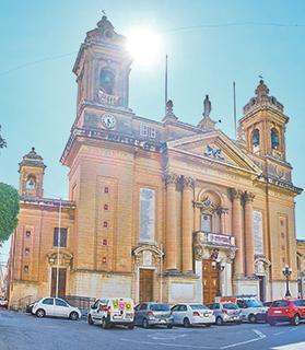 Senglea parish church.