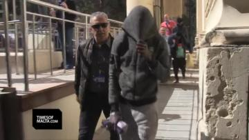 Watch: Three teens charged with terrorist activity in ship hijacking case    The teens were charged on Saturday morning. Video: Mark Zammit Cordina