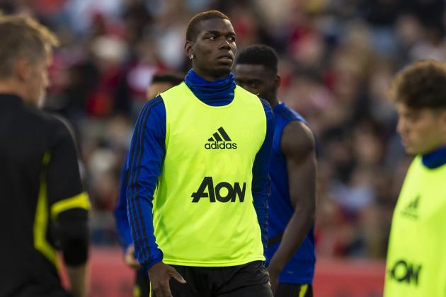 Watch: Sublime Pogba helps Man. United to 2-0 victory over Perth Glory