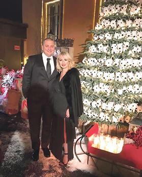 Diane and Karl Izzo in Milan.