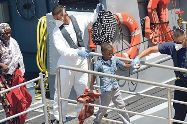 Malta has EU's second highest first-time asylum applications