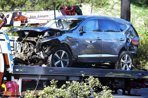 Tiger Woods crash due to 'unsafe' driving speed up to 87 mph: sheriff