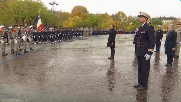 Watch: World leaders hold solemn ceremony in Paris to mark WW1 Armistice centenary