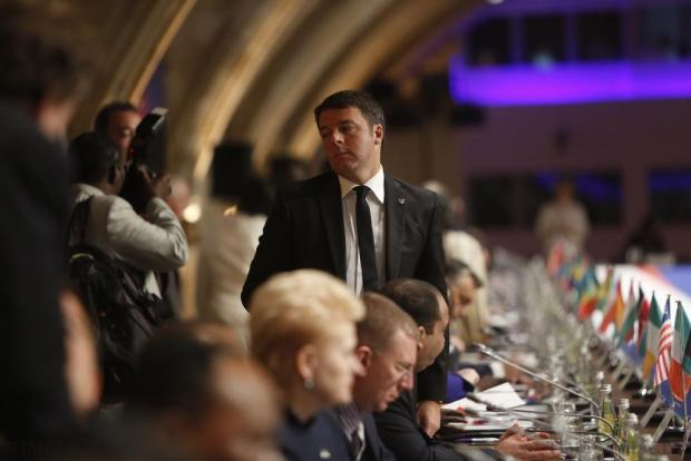 Italian Prime Minister Matteo Renzi attends the Valletta Summit on Migration at the Mediterranean Conference Centre in Valletta on November 12. Photo: Darrin Zammit Lupi
