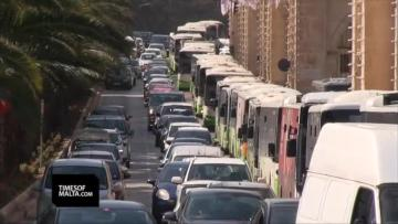 Watch: Traffic chaos outside Valletta  | Video: Chris Sant Fournier