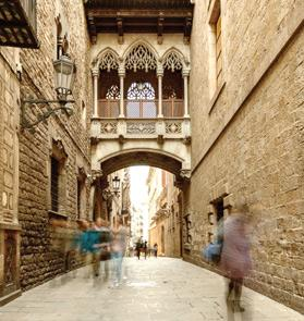 Barcelona inspires artist Alexia Medici.