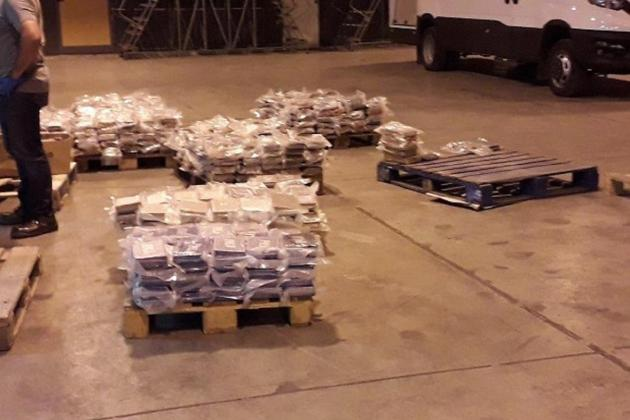 Record-breaking 740kg of cocaine seized at Freeport
