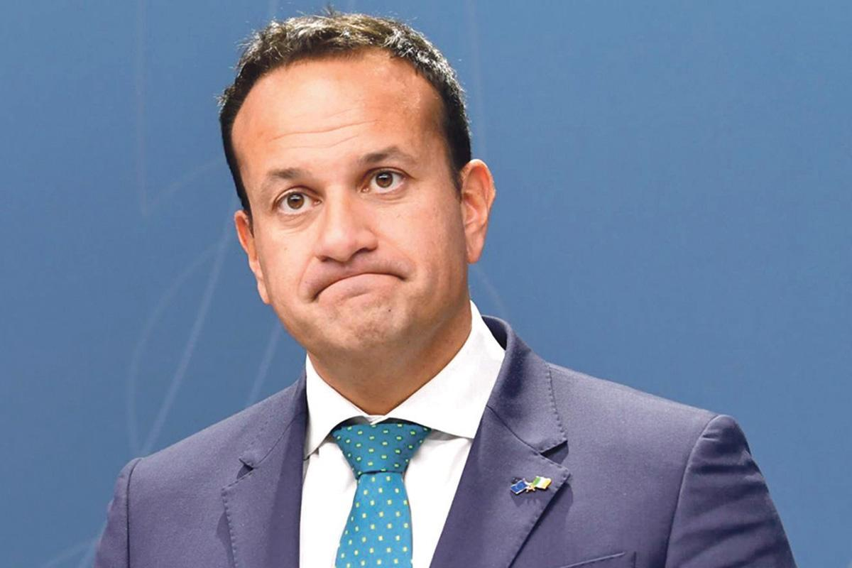 Irish Prime Minister Leo Varadkar. Ten per cent of the Maltese population would not have been comfortable with a gay prime minister.