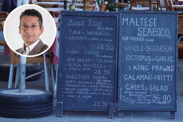 No Mediterranean diet please... we're Maltese
