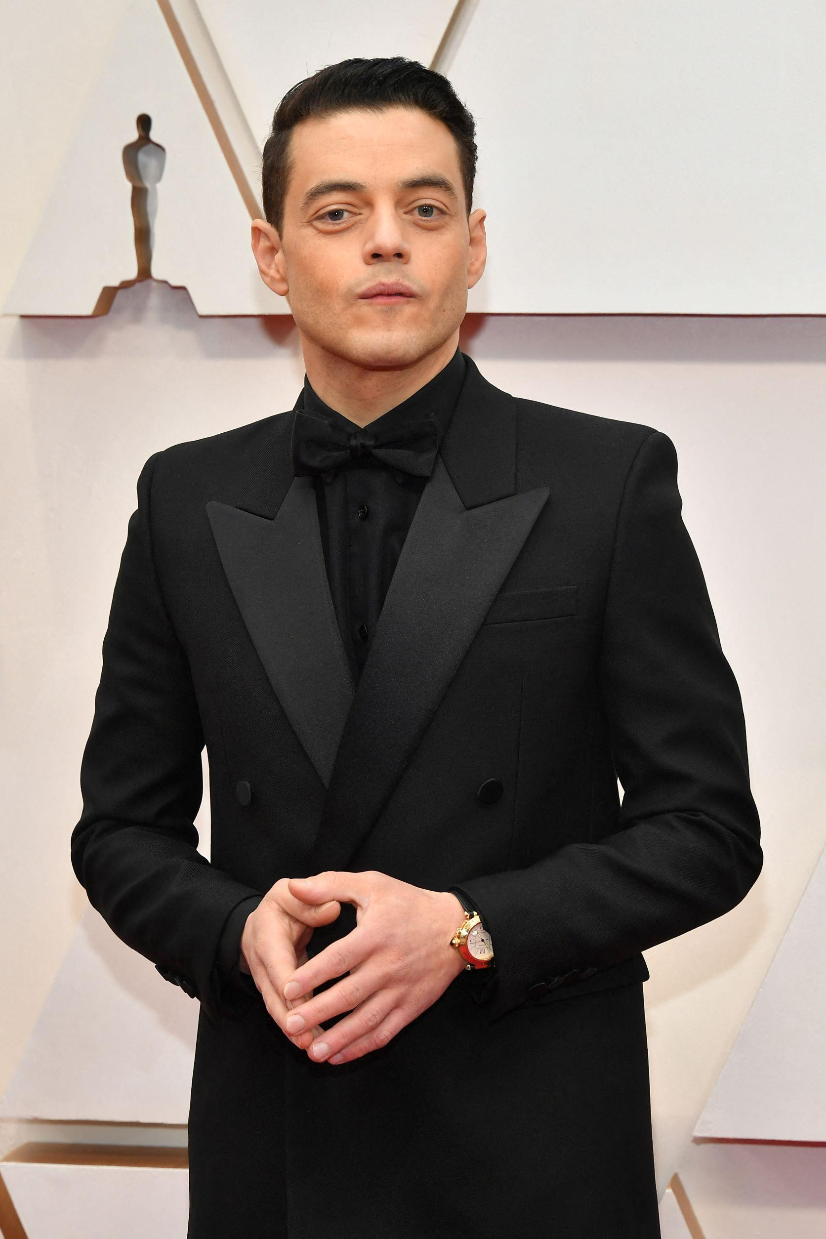 Rami Malek plays the part of the villainous Safin. Photo: Amy Sussman/Getty Images North America/Getty Images via AFP
