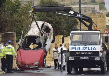 Martin Cachia, 56, was killed in January when a bomb went off inside the Alfa Romeo he was driving along the Marsascala bypass. Police have ruled out that he was in fact the target. Photo: Mark Zammit Cordina
