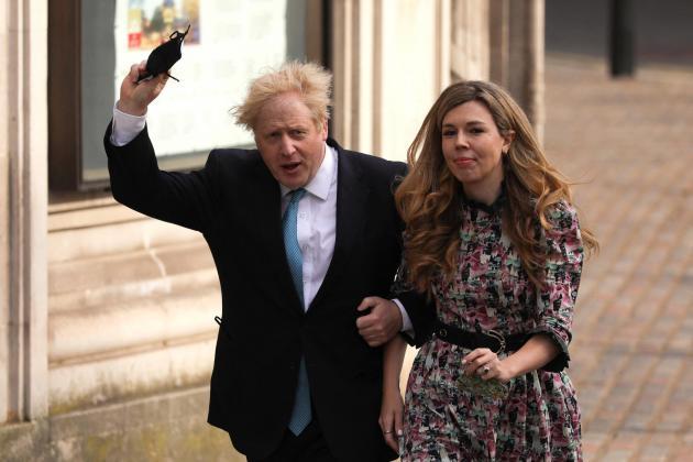 Boris Johnson sets wedding date