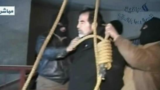 10 years ago today, Saddam Hussein was executed