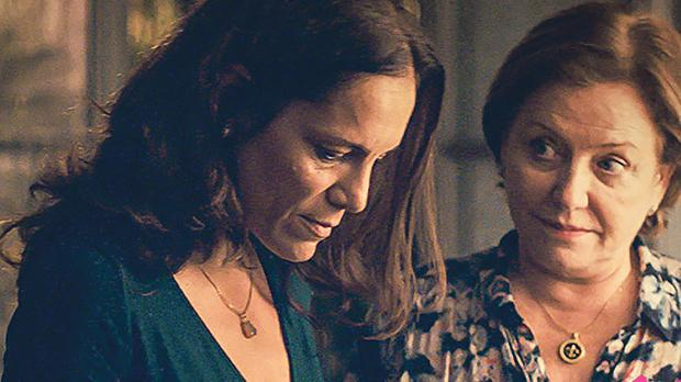 Ana Ivanova (left) and Ana Brun in The Heiresses.