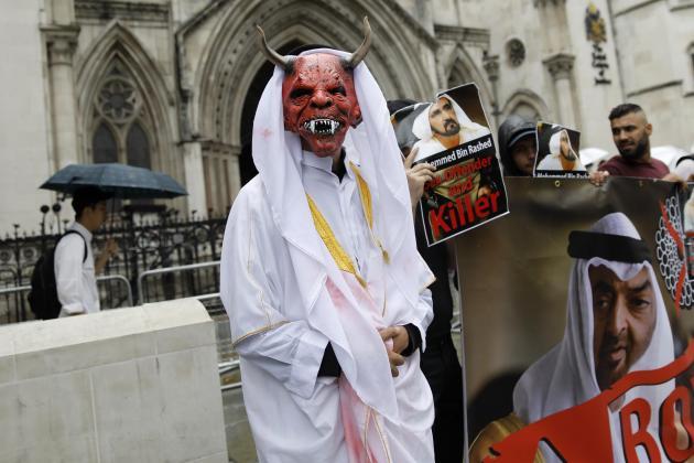 Dubai ruler, wife in London court battle over children
