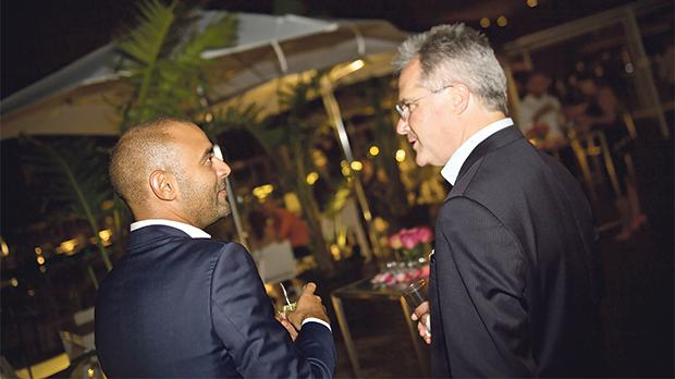 Daniel Scicluna and Martin van Kan, general manager of Intercontinental Malta.