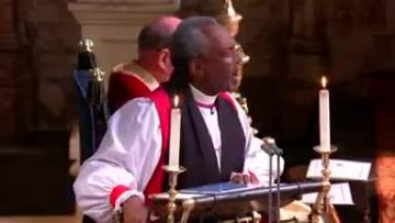 US bishop wows royal wedding with impassioned sermon on love