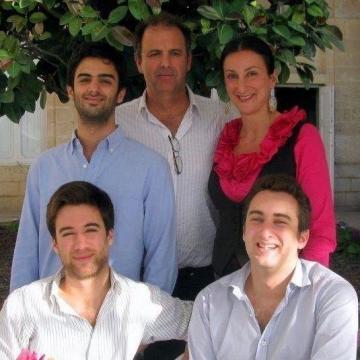 Daphne Caruana Galizia with her family.