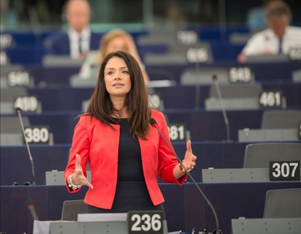 Miriam Dalli piloted the proposal.