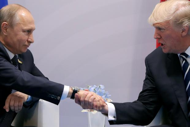 Trump receives Russian Federation sanctions bill for his signature or veto