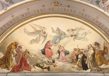 Giuseppe Calì restored paintings to be inaugurated next Sunday