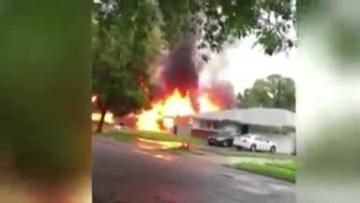 Watch: Dramatic video shows deadly California plane crash
