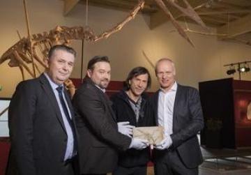 Dinosaur museum Altmuehltal exhibits real Dracula