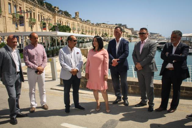 Over €2m invested in revamping the outdoor area at Valletta Waterfront