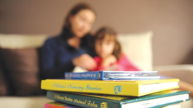 Having enough books around the house will surely leave some sort of effect on the offspring.