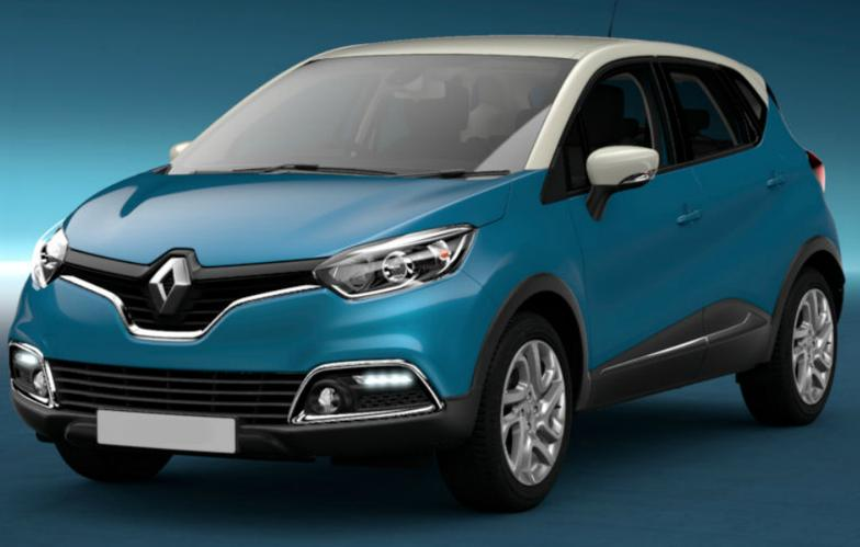 Marcel Pisani drove a blue Renault Captur car. File photo: Police