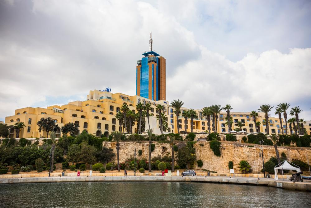 Portomaso tower, which is owned by the Fenech family. Photo: Shutterstock